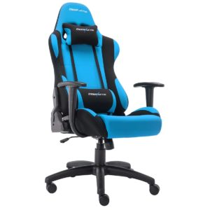 Deerhunter Gaming Chair Swivel Leather Office Chair Mesh Fabric Racing Sport Ergonomic High Back Computer Desk Chair with Headrest and Lumbar Support (Blue)