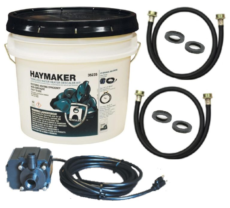 Best Tankless Water Heater Cleaning Kit